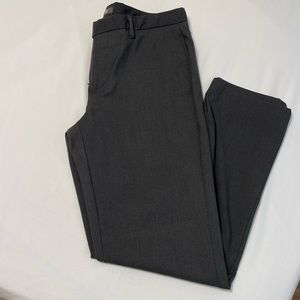 Men's Gray Slim Fit Dress Pant by Kenneth Cole